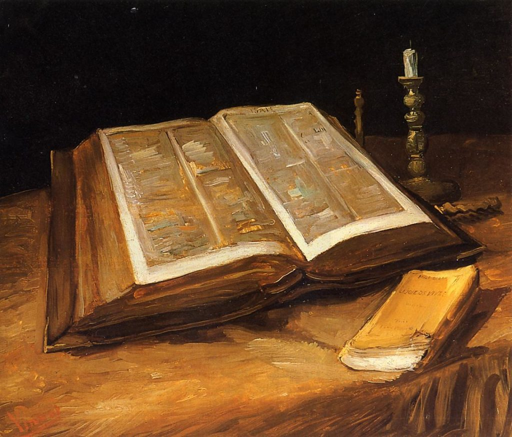 :Vincent van Gogh - Still life with Bible